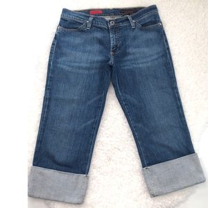 """Ag Adriano Goldschmied Jeans - AG Adriano Goldschmied """"The Shorty"""" Capri Jeans"""
